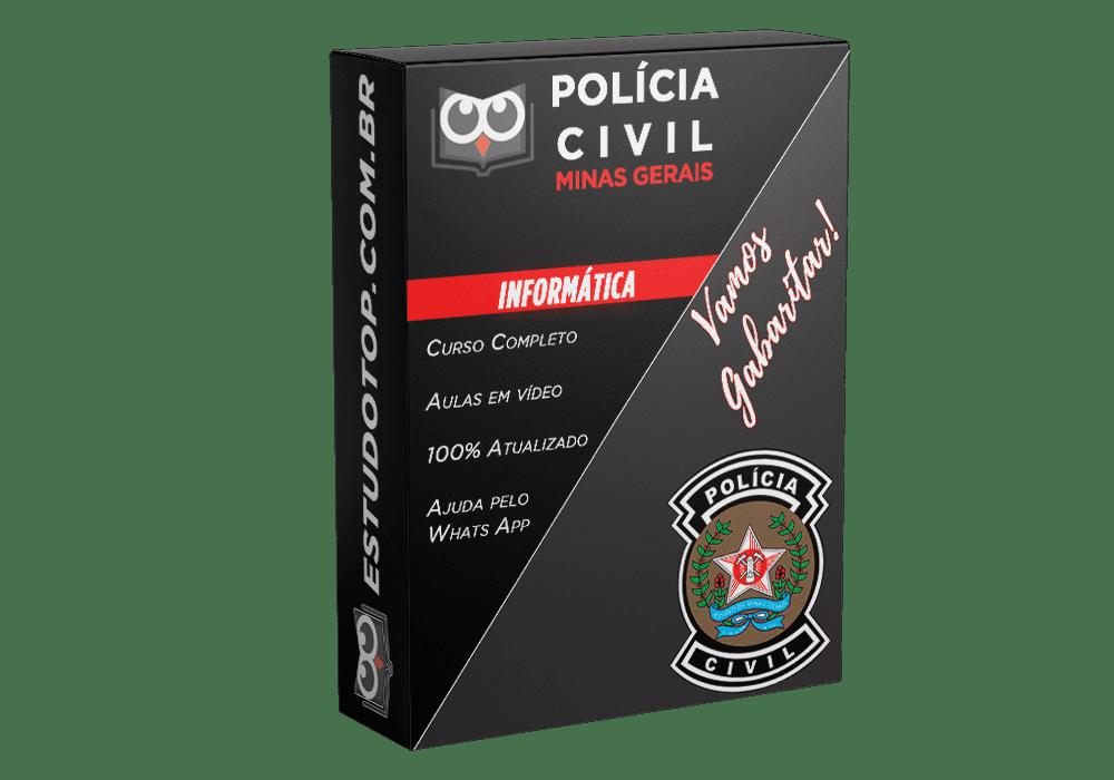 Curso de Informática PCMG Polícia Civil de Minas Gerais